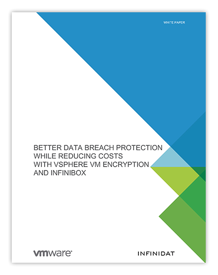 Data Protection Using VMware Encryption with InfiniBox